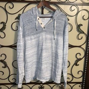 Lucky Brand Sz Large Hooded Pullover